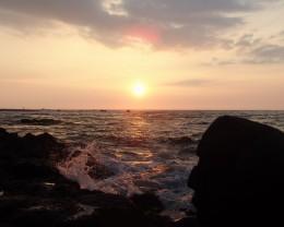 Hawaii sunset.
