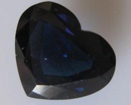 6.13cts Natural Australian Heart Shape Sapphire