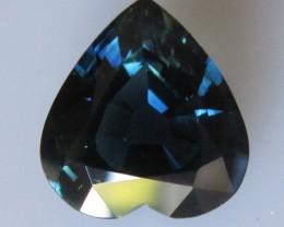5.88cts Natural Australian Blue Heart Shape Sapphire