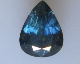 1.75cts Natural Australian Blue Pear Shape Sapphire