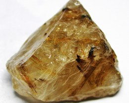205.00 CTS 'STAR BURST' RUTILATED QUARTZ ROUGH [FLA162]