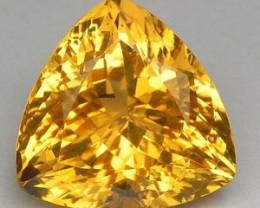 12.11 Cts Natural Golden Yellow Citrine Brazil Gemstone