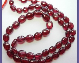 ABSOLUTE LUXURY!! AAA+ 5X7-6X8MM PLAIN OVAL RUBY BEADS!!