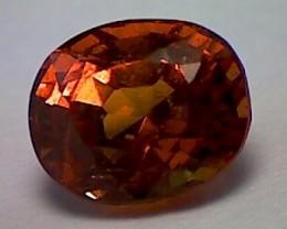 1.40Ct CERTIFIED Fiery Orange Grossular Garnet VVS (A546)