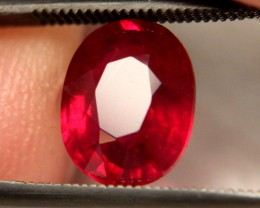 3.78 Carat Fiery VS Ruby - Superb