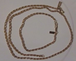 STAMPED 18K GOLD PLATED MATCHING CHAINS