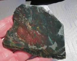 STUNNING BLOODSTONE ROUGH SLAB!/382.4CT./ ONLY ONE LISTED??