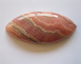 79 carat PINK RHODOCHROSITE CABOCHON
