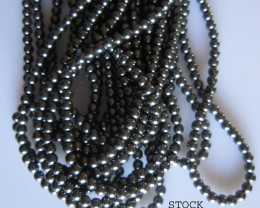 Hematite Beads 4mm, Auction is for 1 Strand 16""