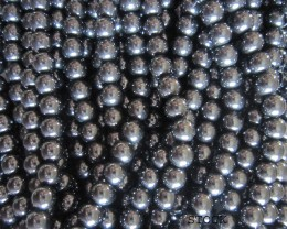 Hematite Beads 6mm, Auction is for 1 Strand 16""