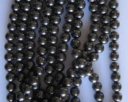 Hematite Beads 8mm, Auction is for 1 Strand 16""