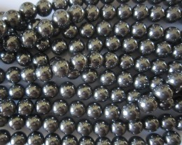 Hematite Beads 10mm, Auction is for 1 Strand 16""