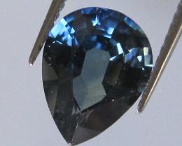 1.92cts Natural Australian Blue Pear Shape Sapphire