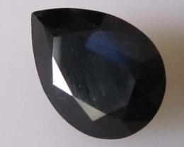 8.47cts Natural Australian Blue Pear Shape Sapphire