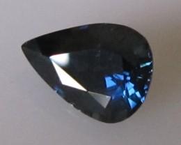 1.96cts Natural Australian Blue Pear Shape Sapphire