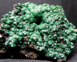 60.90g DOUBLE SIDED MALACHITE MINERAL SPECIMEN FROM CONGO