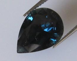 4.67cts Natural Australian Blue Pear Shape Sapphire