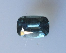 0.56cts Natural Australian Cushion Shape Blue Sapphire