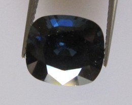 3.51cts Natural Australian Cushion Shape Blue Sapphire