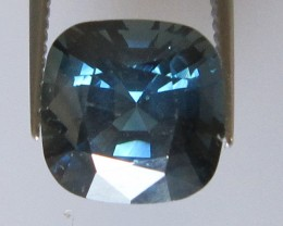 3.30cts Natural Australian Cushion Shape Blue Sapphire
