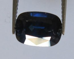 1.81cts Natural Australian Cushion Cut Blue Sapphire