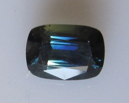 3.61cts Natural Australian Cushion Shape Blue Sapphire