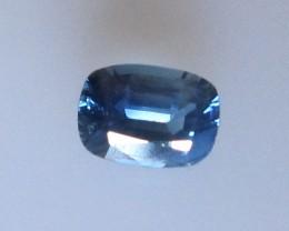 0.63cts Natural Australian Cushion Shape Blue Sapphire