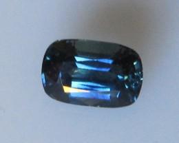 1.90cts Natural Australian Cushion Cut Blue Sapphire