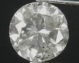 NATURAL -FANCY-GREY-WHITE-2.05CTW SIZE DIAMOND-1PCS,NR