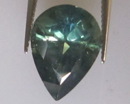 3.05cts Natural Australian Parti Colour Pear Shape Sapphire