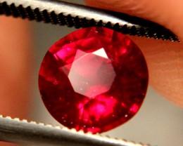 1.99 Carat Fiery VS2 Pigeon Blood Ruby - Gorgeous