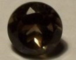 3.0 DARK SMOKEY QUARTZ. 9 X 7 MM.