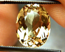 4.81 Carat VVS1 South American Golden Beryl - Superb
