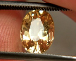 2.8 Carat VVS Golden Yellow Zircon - Superb