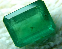 5 CTS COLUMBIAN EMERALD FACETED  STONE  AF-1