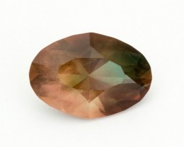 6.7ct Oregon Sunstone, Pink/Green Oval (S243)
