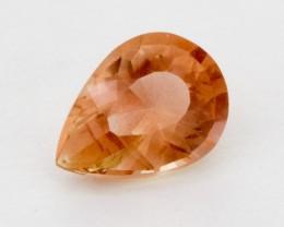 2.05ct Oregon Sunstone, Peach Pear (S741)