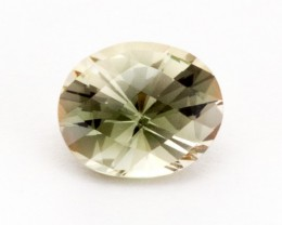 2.7ct Oregon Sunstone, Clear/Green Oval (S462)