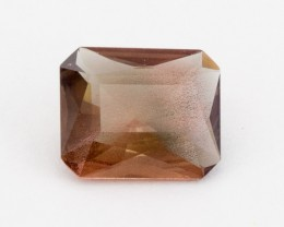 3.3ct  Rootbeer Rectangle Oregon Sunstone, (S418)