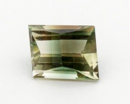 3.2ct Green Champagne Trapezoid Sunstone (S290)