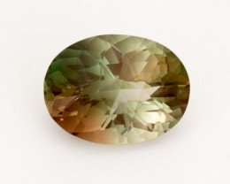 6ct Oregon Sunstone, Green Oval (S192)