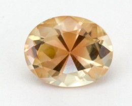 2.1ct Oregon Sunstone, Clear/Pink Oval (S110)
