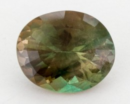 3.5ct, Oregon Sunstone, Green/Gold Oval (S40)