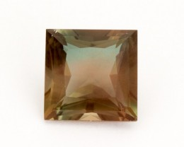5.4ct Oregon Sunstone, Rootbeer Princess Cut (S20)