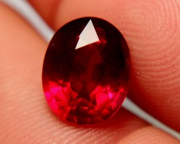 5.24 Carat Fiery VS Pigeon Blood Ruby - Gorgeous