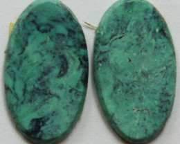 6.00 CTS NATURAL TURQUOISE PAIR OF STONES