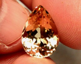 7.25 Carat VVS1 South American Golden Beryl - Superb