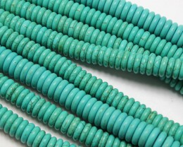 365 CTS HOWLITE 1 STRAND BEADS ROUND 10 MM - 16 INCHES