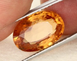 9.23 CTS VS LIGHT CLOURED HESSONITE GARNET [GAR4]
