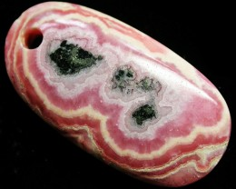 53.84 CTS RHODOCHROSITE WELL POLISHED DRILLED [MGW3314]
